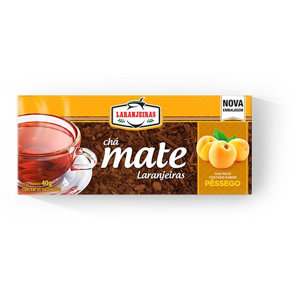 Chá tostado pêssego