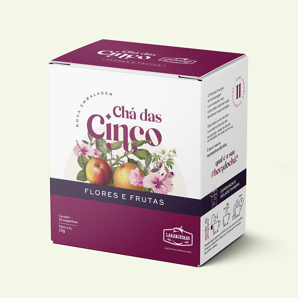 Chá das 5 – Flores e Frutas