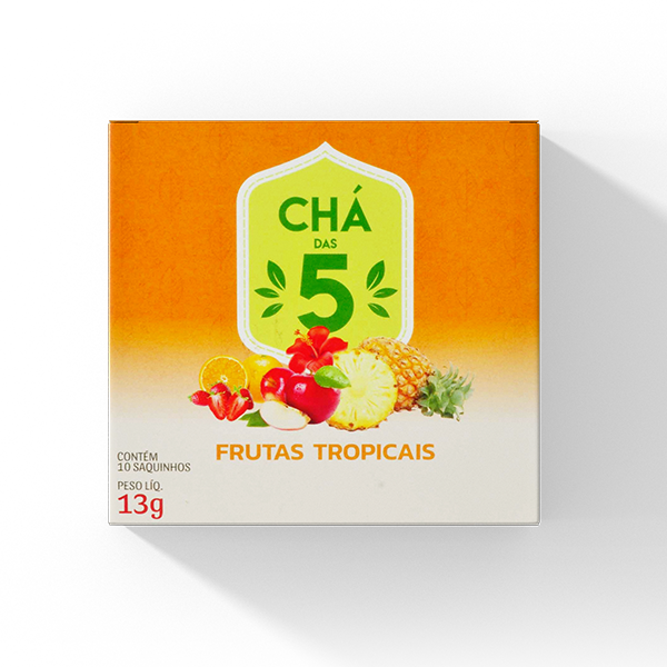 Chá Frutas tropicais
