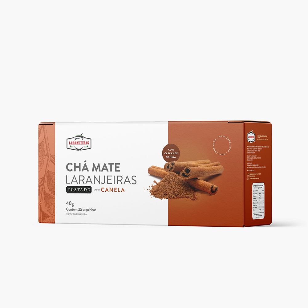 Chá Mate Laranjeiras – Tostado Canela